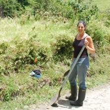 Science is women's work: ant collecting in Costa Rica