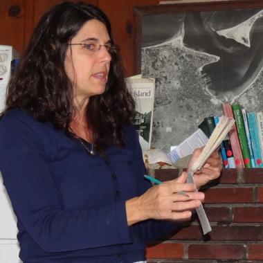 Teaching at Nantucket Field Station, U Mass Boston