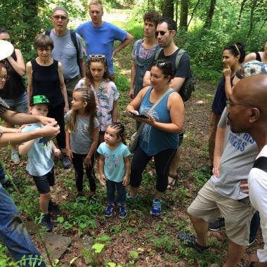 Snake Walk at Penland School of Craft led by Shae Bishop